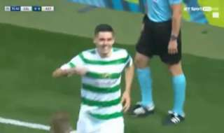 Tom Rogic was in sublime form as Celtic cruised in their UCL playoff tie against Astana.