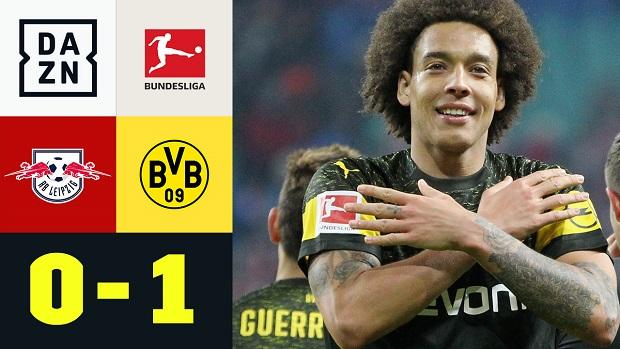 Bundesliga: RB Leipzig - Borussia Dortmund | DAZN Highlights