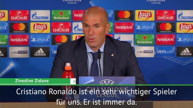 """Zidane über Ronaldo: """"Macht immer die Tore"""""""