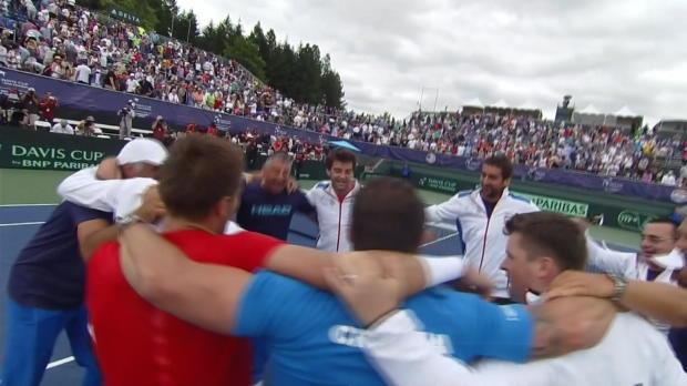 Davis Cup: Kroatien wirft die USA raus