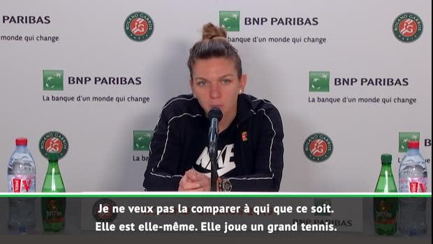 """Basket : Roland-Garros - Halep - """"Anisimova a de grandes chances d'aller au bout"""""""