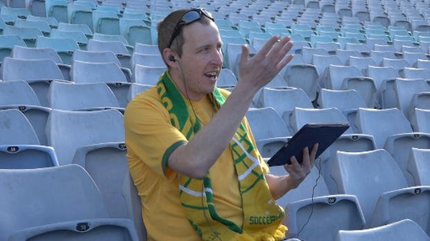 Socceroos fans on 'that night'