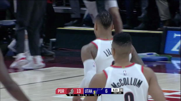 WSC: Damian Lillard (24 points) Highlights vs. Utah Jazz