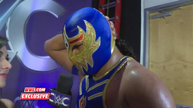 Gran Metalik reacts to his high-flying Quarterfinal match: WWE.com Exclusive, Aug. 31, 2016