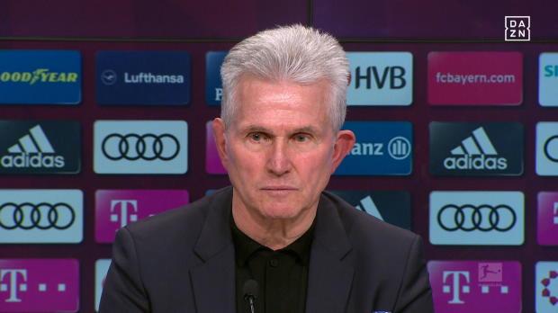 Verpasster Rekord: Heynckes tröstet Lewandowski