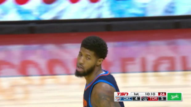 WSC: Paul George 22 points vs the Raptors