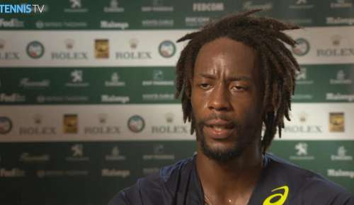 Monfils Interview (French): ATP Monte-Carlo SF