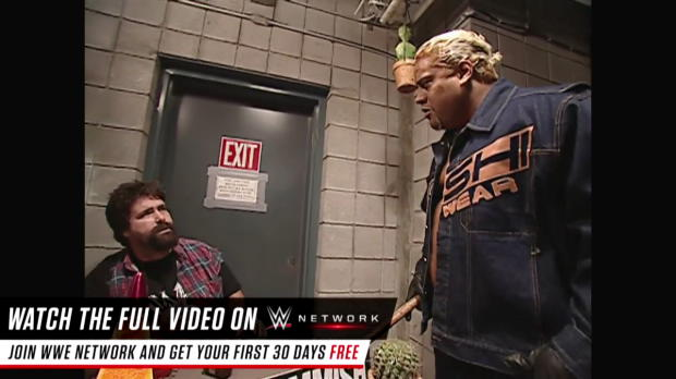 WWE Network: Rikishi confronts Mick Foley about a missing Steve Austin: No Mercy 2000