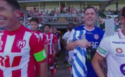 Melbourne Heart's impressive Hyundai A-League recovery continued on Sunday with a 2-1 win over Perth Glory in Albury.