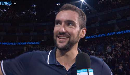 Cilic Interview: ATP World Tour Finals RR