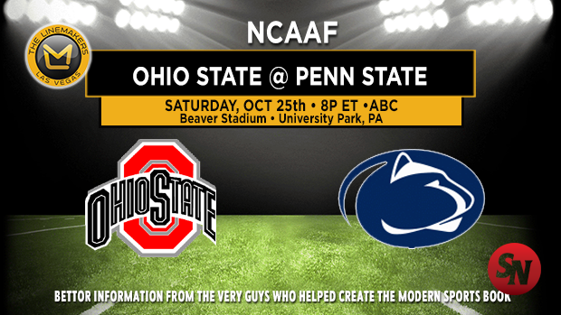 Ohio State Buckeyes @ Penn State Nittany Lions