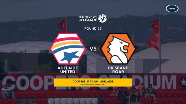 Adelaide v Brisbane highlights