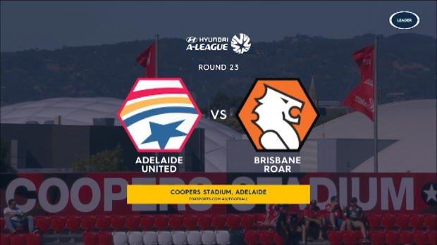 Adelaide v Brisbane highlights