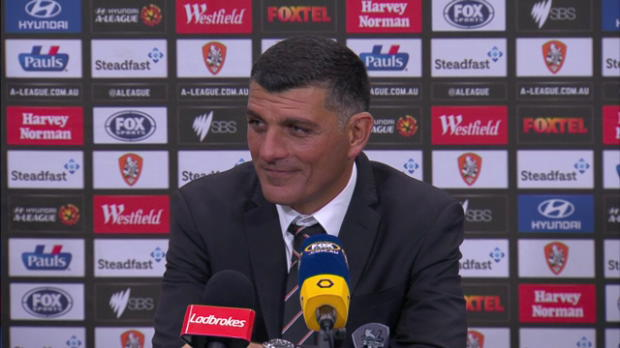 Brisbane Roar Rd 27 press conference