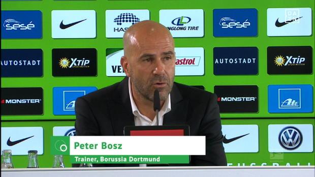 """Bosz froh: """"Habe sehr gutes Dortmund gesehen"""""""