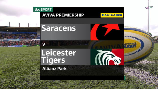 Aviva Premiership - Match Highlights - Saracens v Leicester Tigers
