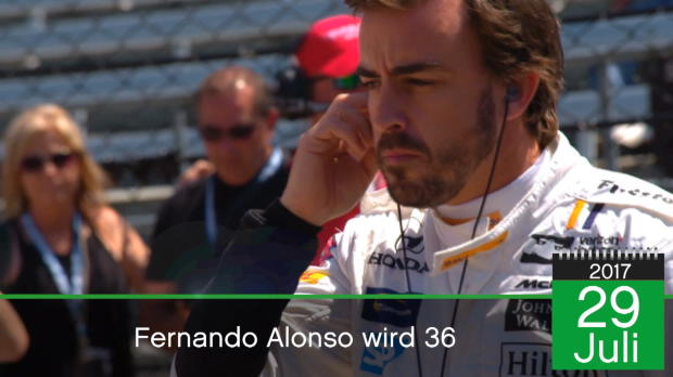 BORN THIS DAY: Fernando Alonso wird 36