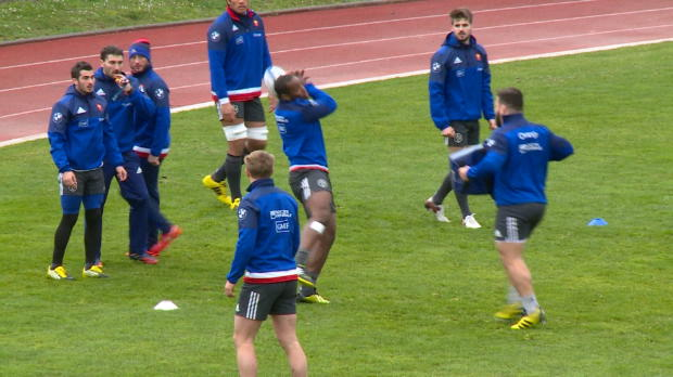 RUGBY - 6 Nations - XV de France - Toujours convalescents