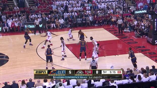 WSC: LeBron James mit 33 Punkten gegen Raptors (Spiel 6)