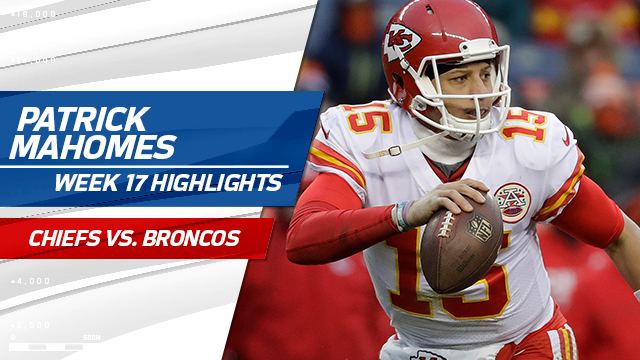 496db6663 Kansas City Chiefs rookie quarterback Patrick Mahomes highlights