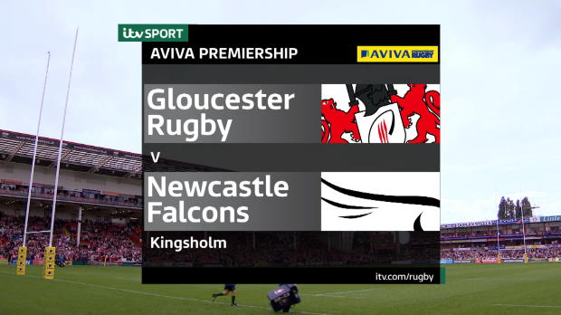 Aviva Premiership - Match Highlights - Gloucester Rugby v Newcastle Falcons