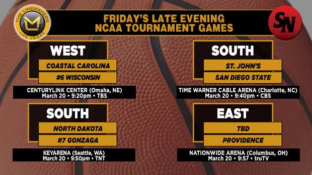 Friday Late Evening Games