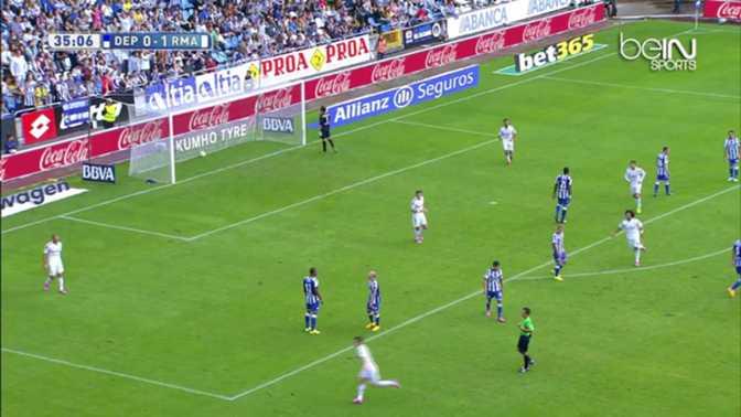 Real Madrid : La splendide lucarne de J.Rodriguez