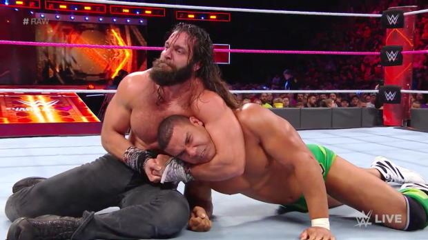 Jason Jordan vs. Elias: Raw, Oct. 23, 2017