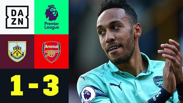 Premier League: Burnley - Arsenal | DAZN Highlights