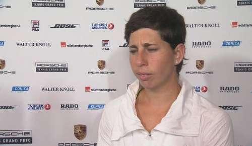 Navarro Interview: WTA Stuttgart 1R