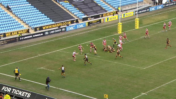 Aviva Premiership - Match Highlights - Wasps v Gloucester Rugby