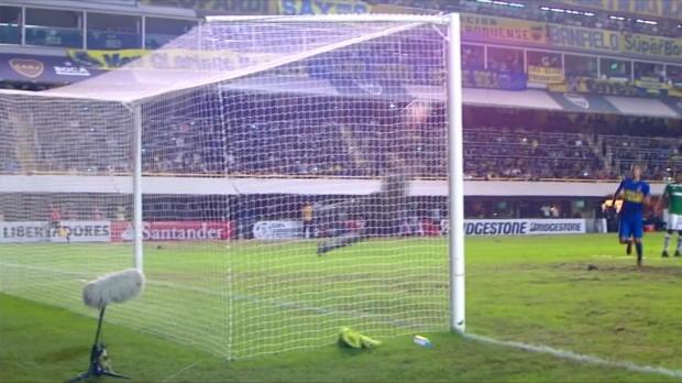 Copa Libertadores: Traum-Freistoß von Tevez!