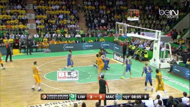 EL : CSP Limoges 73-79 Maccabi
