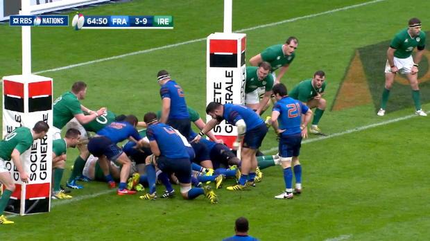 French Try to TMO, France v Ireland, 13th February 2016