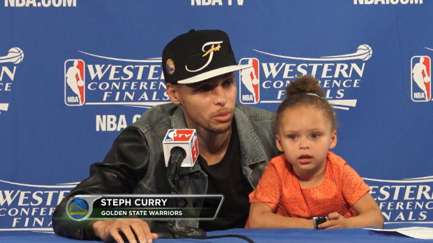Play-offs - Curry fier d'�tre en finales