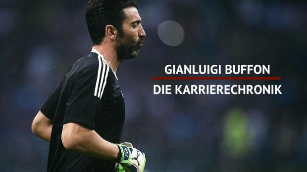 Buffon-Abschied: Gigis Karrierechronik