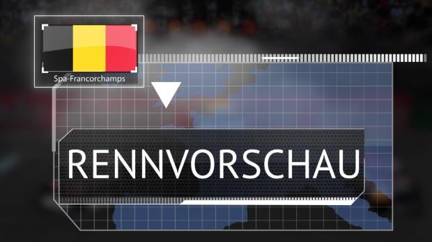 F1: Die Rennvorschau für den GP von Belgien