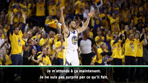 """Basket : Play-offs - Durant - """"Je ne suis pas surpris par ce que fait Curry"""""""