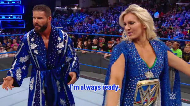 Rusev utilizes unorthodox methods to motivate Lana on WWE Mixed Match Challenge