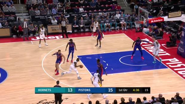 GAME RECAP: Hornets 113, Pistons 103