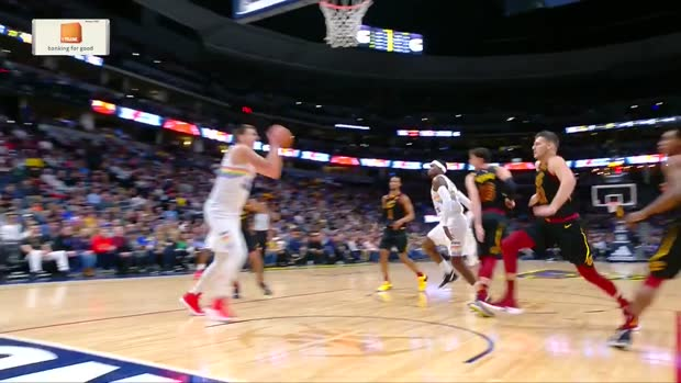 WSC: Nikola Jokic Posts 19 points, 12 assists & 11 rebounds vs. Cleveland Cavaliers
