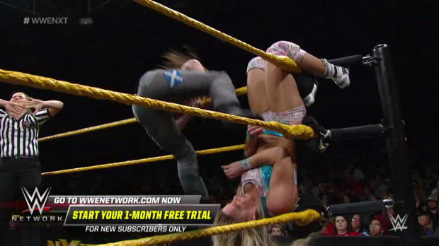Kairi Sane vs. Candice LeRae vs. Nikki Cross - NXT Women's Title No. 1 Contender's Triple Threat Match: WWE NXT, July 18, 2018