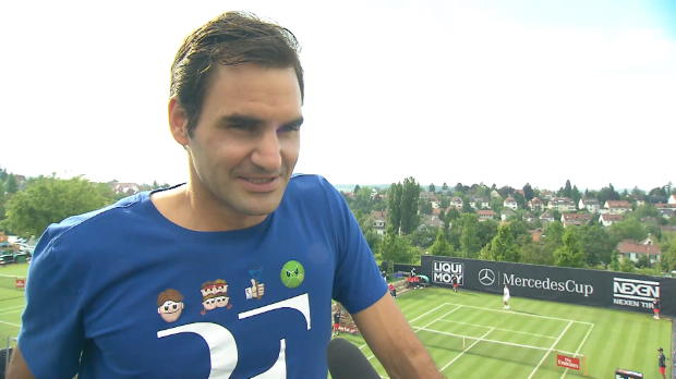 Stuttgart: Federer: Trotz Rücken gut überlebt