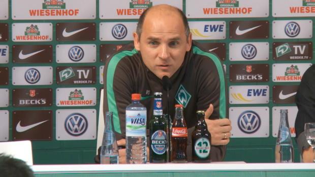"""Werder ungeschlagen! Skripnik """"unzufrieden"""""""