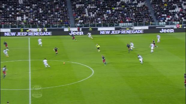 Serie A Round 23: Juventus 1-0 Genoa
