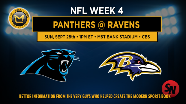 Carolina Panthers @ Baltimore Ravens