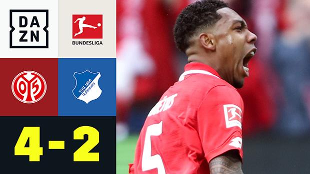 Bundesliga: 1. FSV Mainz 05 - TSG Hoffenheim | DAZN Highlights