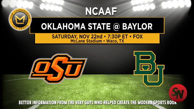 Oklahoma State Cowboys @ Baylor Bears