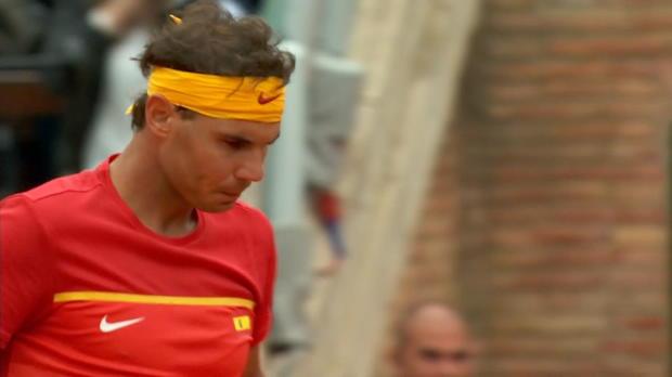 : Coupe Davis - Nadal, retour gagnant