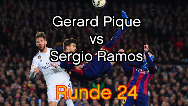 Schlüsselduell im Clasico: Pique vs. Ramos